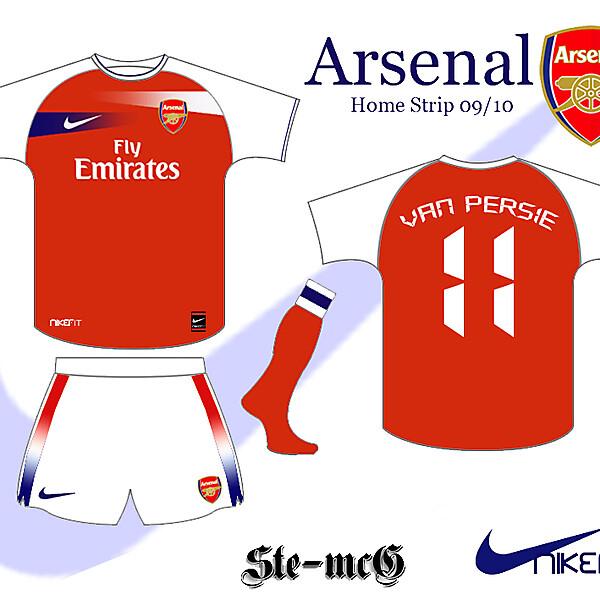 Arsenal Home strip