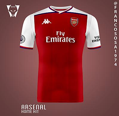 Arsenal Kappa home