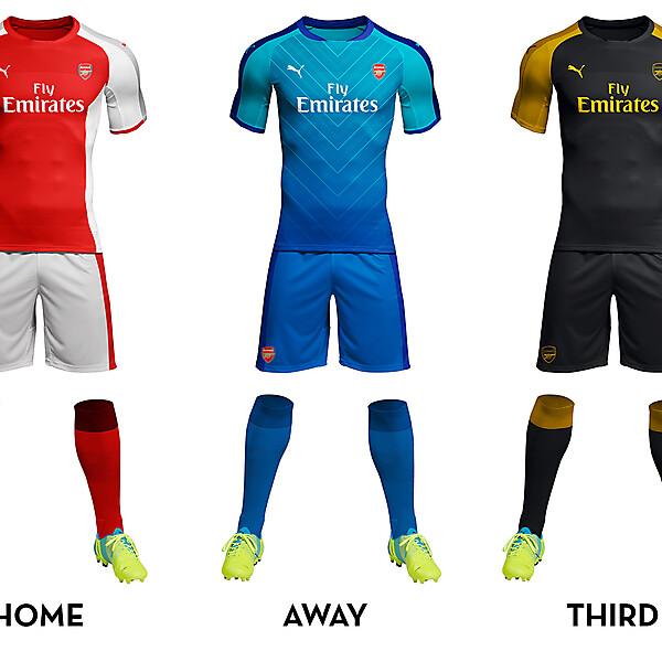 Arsenal Kit Concept