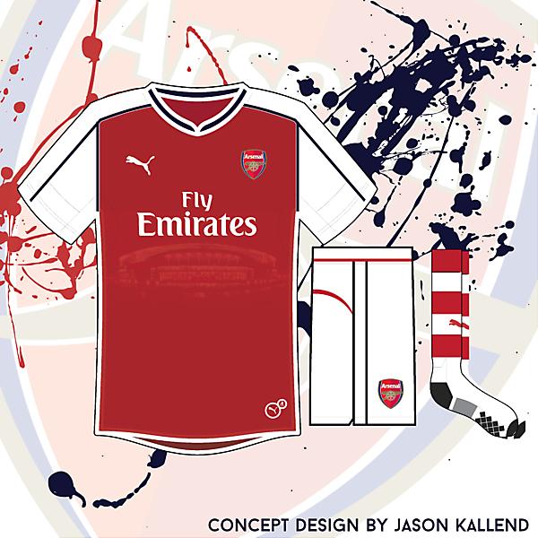 Arsenal Puma 'Stadium' Concept