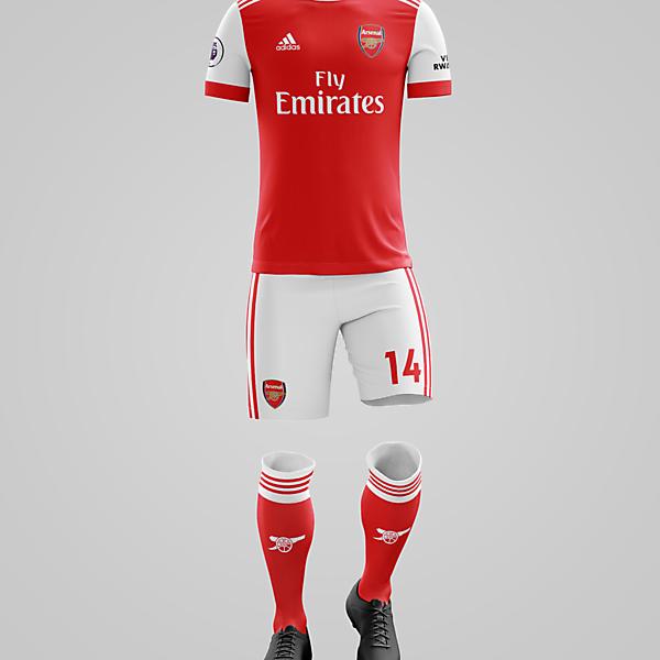 Arsenal x Adidas - Home Kit