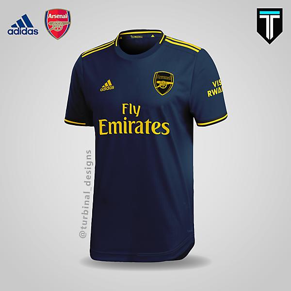 Arsenal x Adidas - Third Kit 19/20