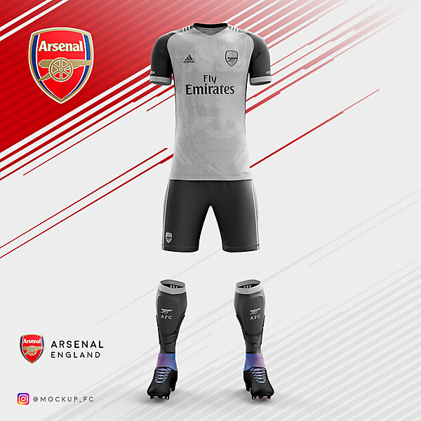 Arsenal x Adidas - Third Kit