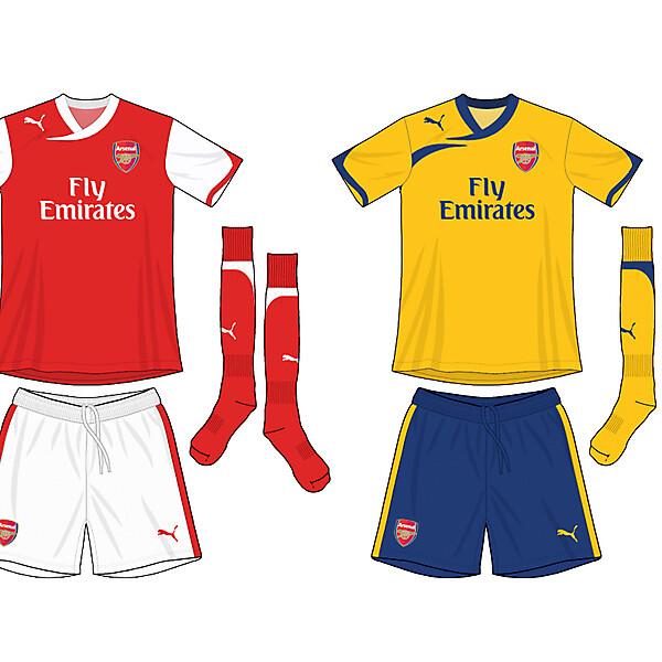 Arsenal Puma Kits