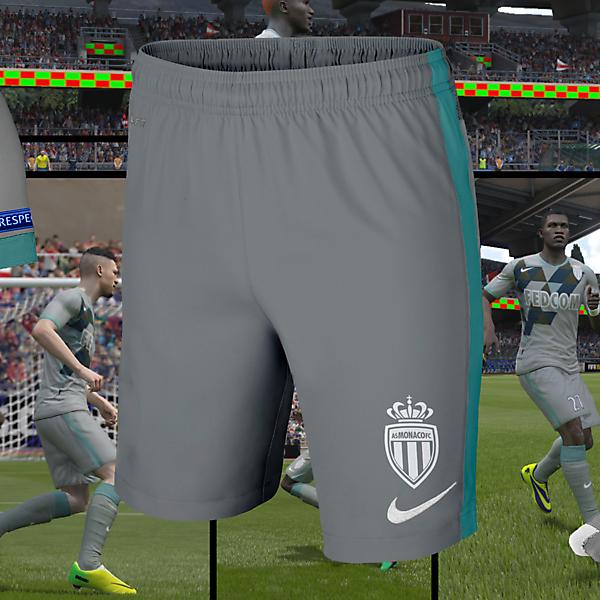AS Monaco Away Kit Design