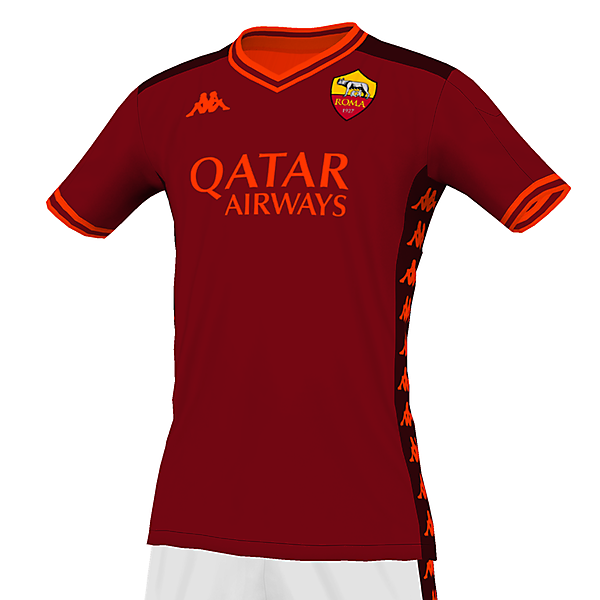 AS Roma - Home kit
