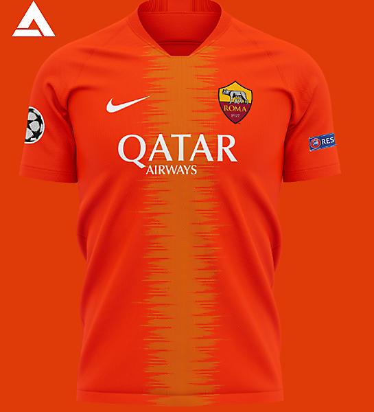 AS Roma 2021 Alternate Kit