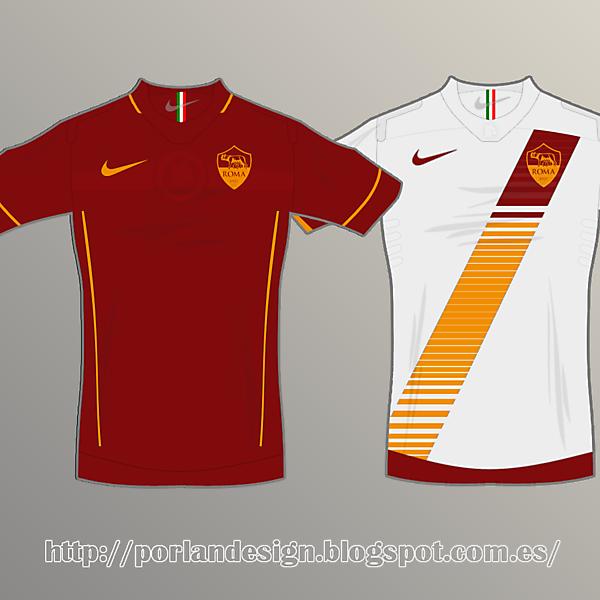 AS Roma // home-away