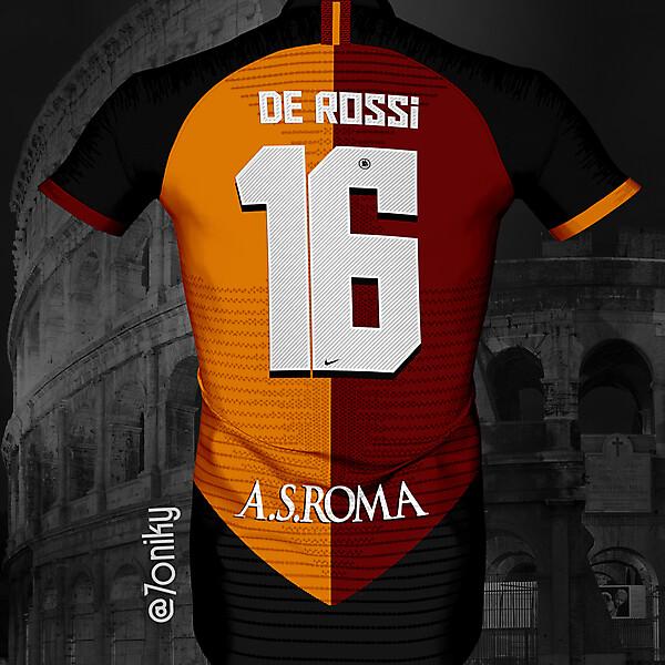 AS ROMA BACK DE ROSSI