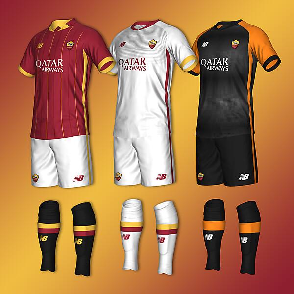 A.S. Roma concept 21-22