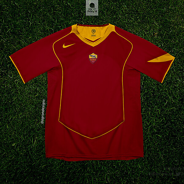AS ROMA HOME KIT 2017-18 (T90 TEMPLATE)