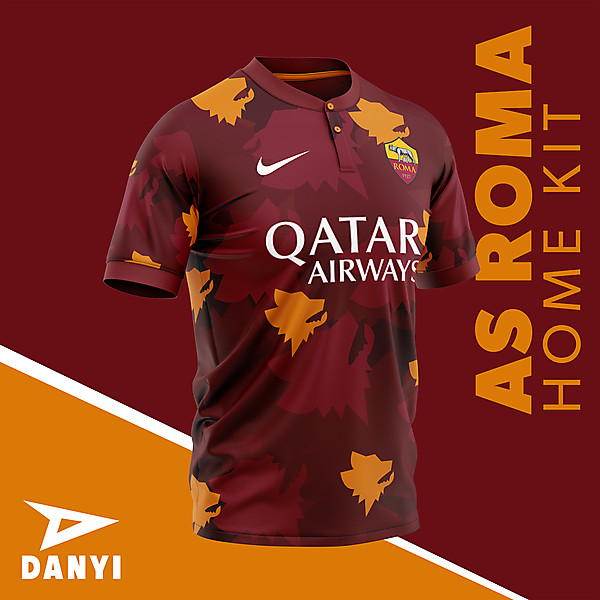 AS ROMA home kit by:Danyi