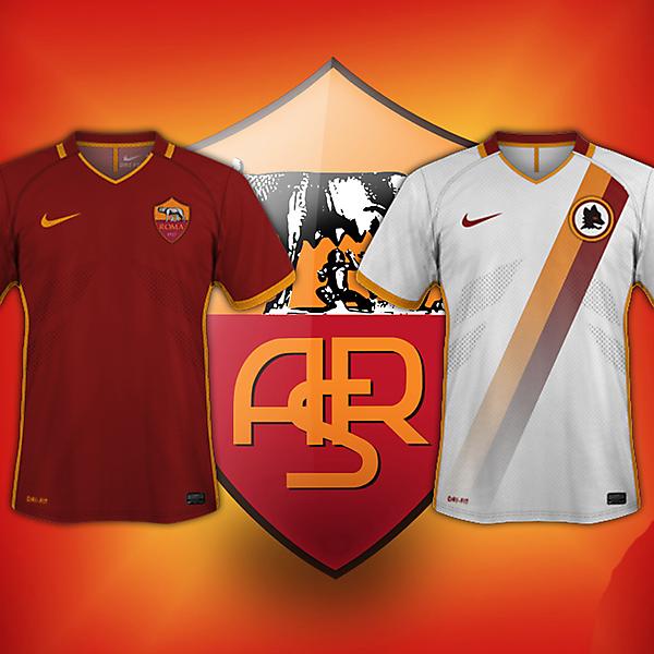 AS Roma kits