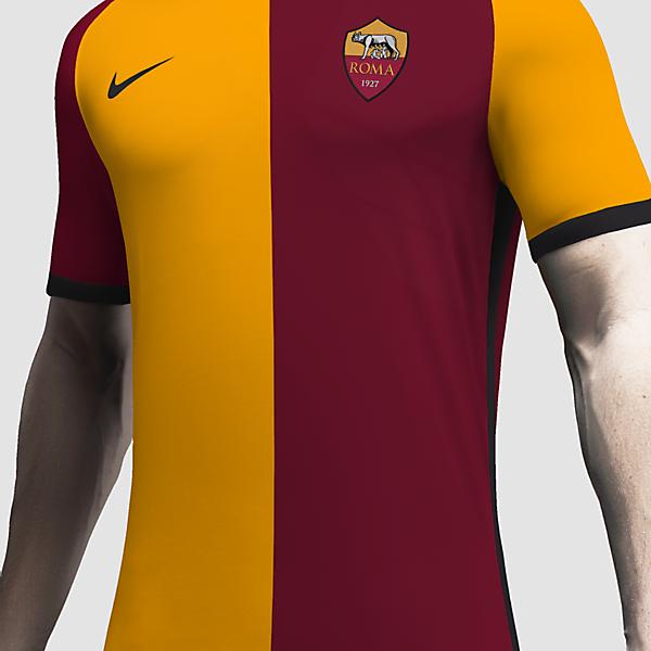 AS Roma x Nike Concept Home Kit