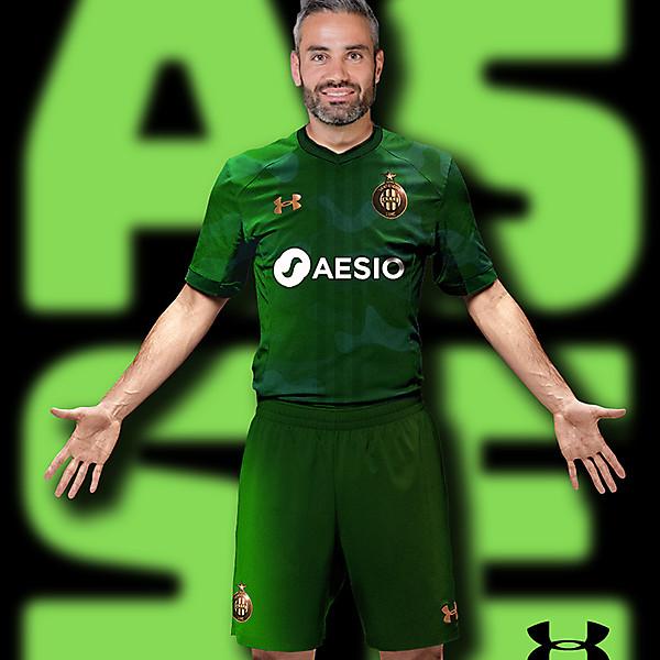 AS Saint-Etienne x Under Armor concept #ASSE