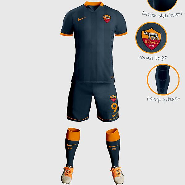 AS Third Away Kit Design