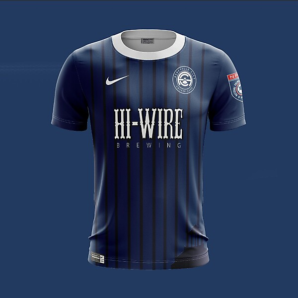 Asheville City SC 2018 Nike Home Kit