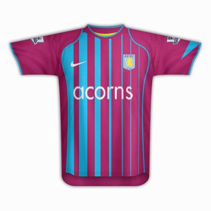 Aston Villa home.