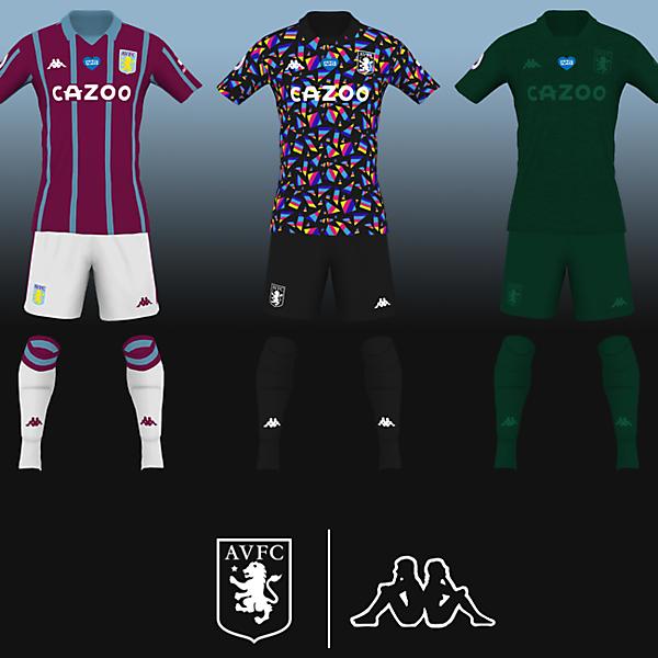 Aston Villa   Kappa 2020/21