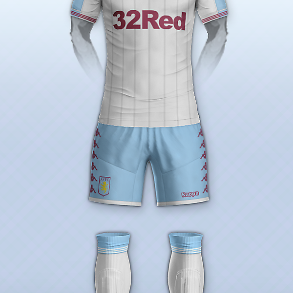 Aston villa & Kappa away kit concept