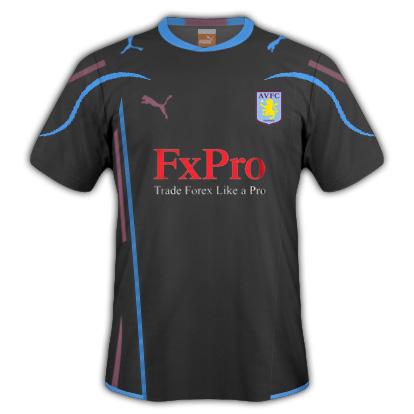 Aston Villa Away Fantasy Kit (Puma)