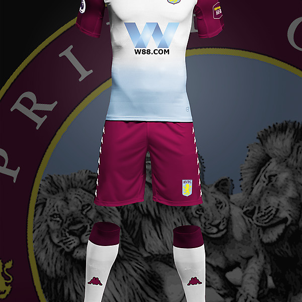 Aston Villa Kappa Concept Away
