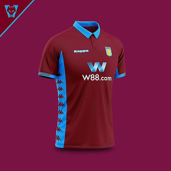 Aston Villa x Kappa home