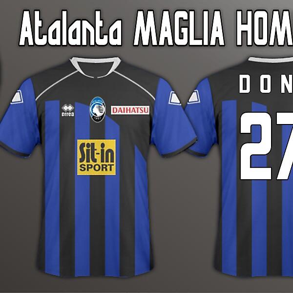 Atalanta Home 11/12