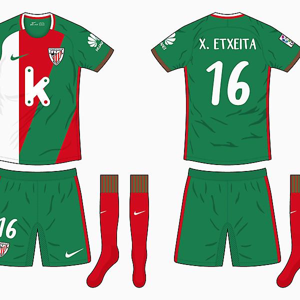 Athletic Bilbao Away Kit - Nike