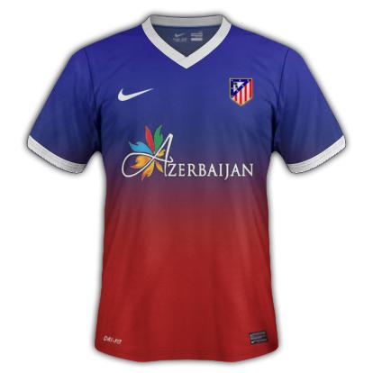 Atl. Madrid Fantasy Away Kit 2014/2015