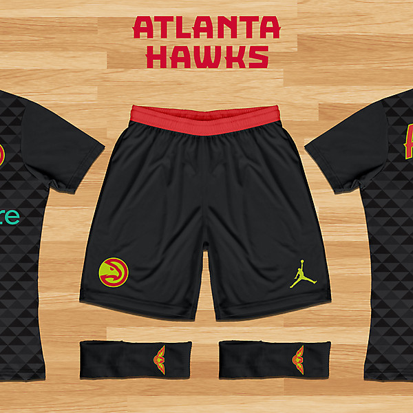 Atlanta Hawks Concept - Away Kit