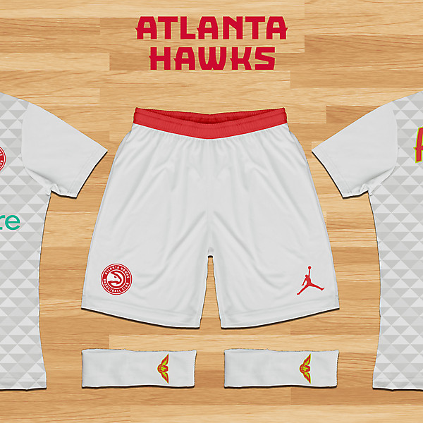 Atlanta Hawks Concept - Home Kit