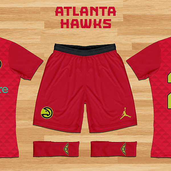 Atlanta Hawks Concept - Third Kit
