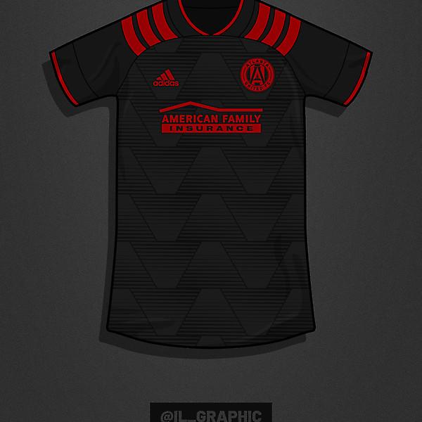 Atlanta United Third Kit X @Adidas