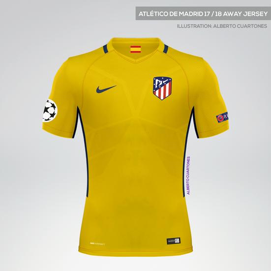 Atlético de Madrid 17/18 Away Jersey