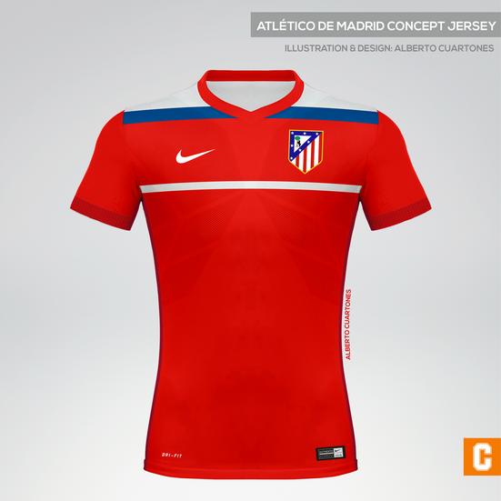 Atlético de Madrid Concept Jersey