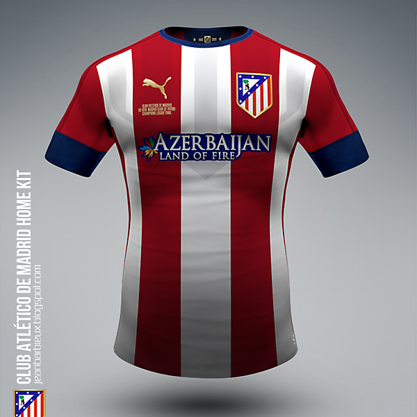 ATLÉTICO DE MADRID HOME KIT