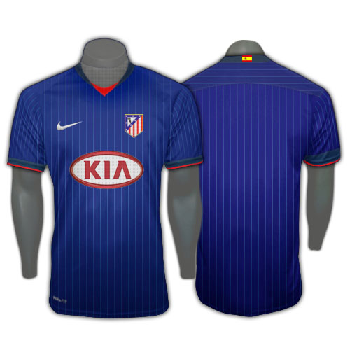 Atletico Madrid Away