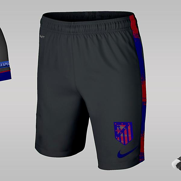 Atletico Madrid Away Kit Design