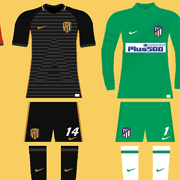 Atletico Madrid concept kit