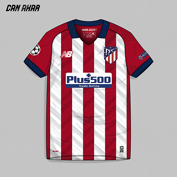 Atletico Madrid Home Kit x New Balance