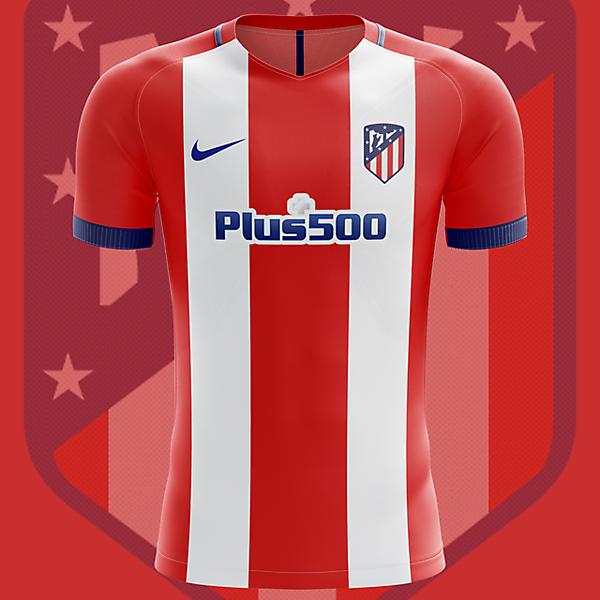 Atletico Madrid home shirt 2017-2018