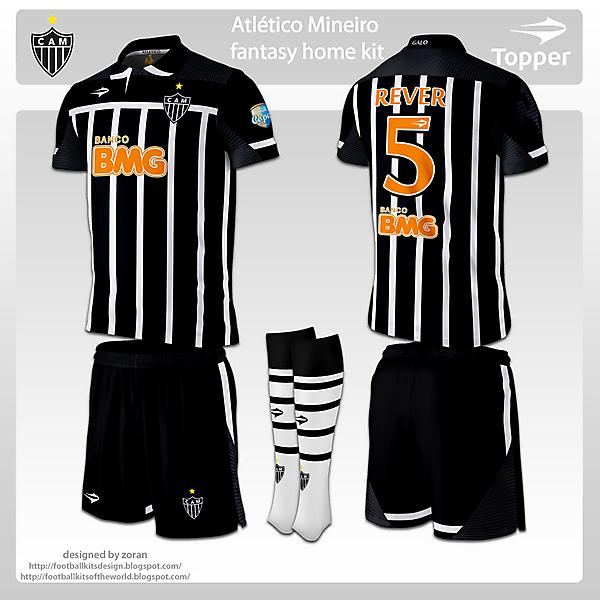 Atletico Mineiro fantasy home and away
