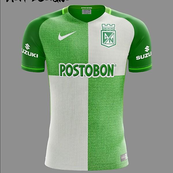 Atlético Nacional 2018 Nike Home Kit