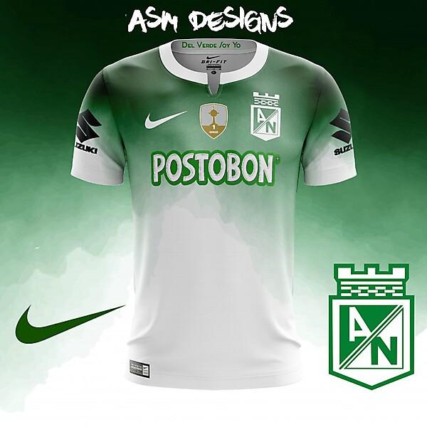 Atlético Nacional Nike 2018 Home Kit