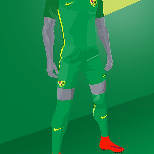 Atletico Vaslui x Nike Vapor - Away kit