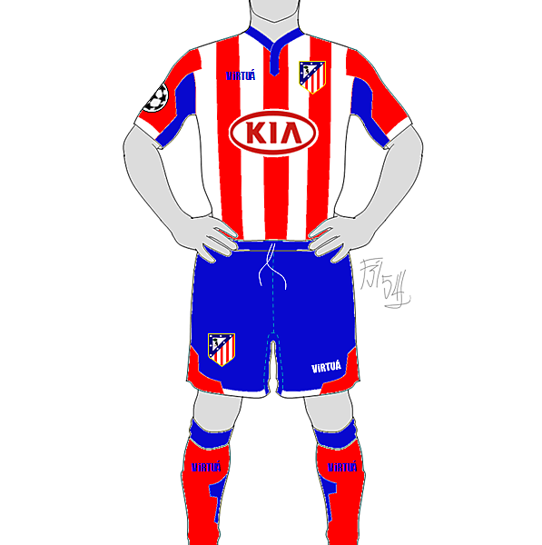 ATLETICO MADRID HOME by F3154L