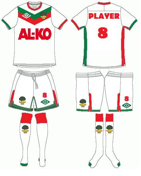 FC Augsburg Umbro Home Kit
