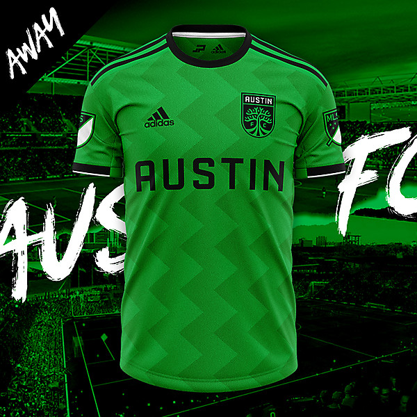 Austin FC Away Concept Kit
