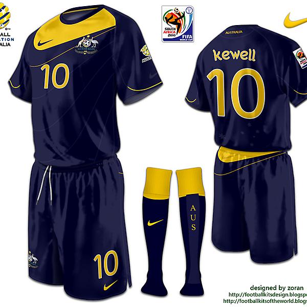 Australia World Cup 2010 fantasy away